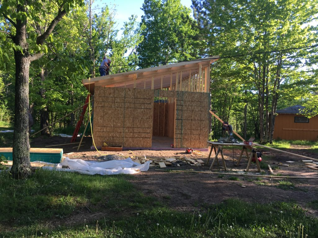 New Cabin 8 in Progress